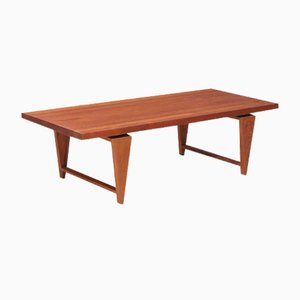 Teak Coffee Table by Illum Wikkelsø for A/S Mikael Laursen, 1950s