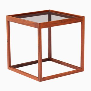 Rosewood Side Table by Kurt Østervig for KP Møbler, 1950s