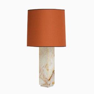 Marmor Tischlampen, 1960er, 2er Set