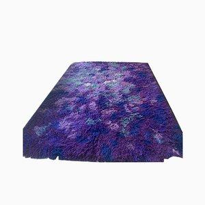 Vintage Wool Shag Carpet from Walter Mack