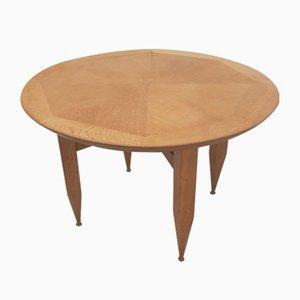 Oak Dining Table by Guillerme et Chambron for Votre Maison, 1960s