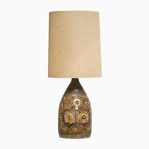Lampe de Bureau en Céramique par Georges Pelletier, années 60