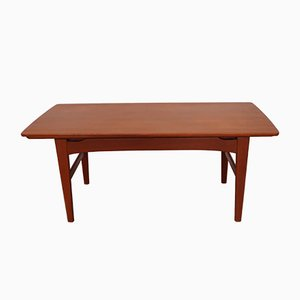 Mid-Century Danish Coffee Table by Niels Bach