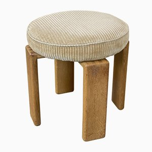 Mid-Century Oak Bonanza Stool by Esko Pajamies for Asko