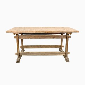 Oak & Pine Workbench, 1930s