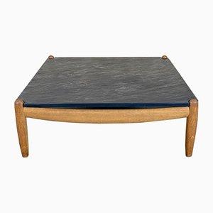 Mid-Century Oak Coffee Table from Carl Straub