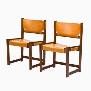 Esszimmerstühle von Sven Kai Larsen für Nordiska Kompaniet, 1960er, 2er Set