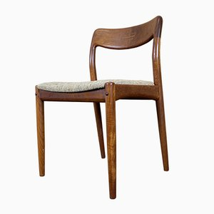 Mid-Century Teak Dining Chairs by Johannes Andersen for Uldum Møbelfabrik, Set of 4