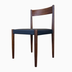 Mid-Century Teak Dining Chairs by Poul Volther for Frem Røjle, Set of 4