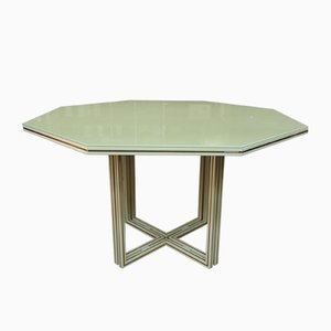 Octagonal Dining Table by Pierre Vandel, 1980s