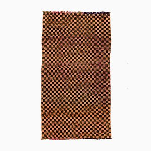Mid-Century Moroccan Chequered Rug