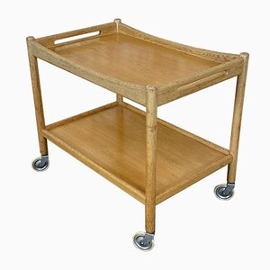 Mid-Century Oak AT 45 Trolley by Hans J. Wegner for Andreas Tuck