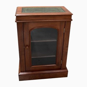 Small Antique Victorian English Mahogany Cabinet