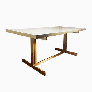 Großer Esstisch von Willy Rizzo, 1980er