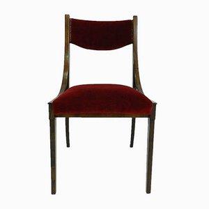 Italienische Barbara Esszimmerstühle von Luigi Massoni für Mobilia, 1960er, 3er Set