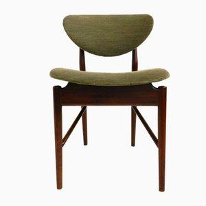 Dänische Modell 108 Esszimmerstühle von Finn Juhl, 1940er, 4er Set