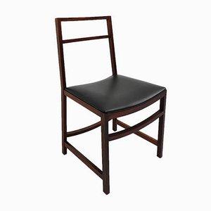 Mahagoni Esszimmerstühle von Renato Venturi für MIM, 1961, 8er Set