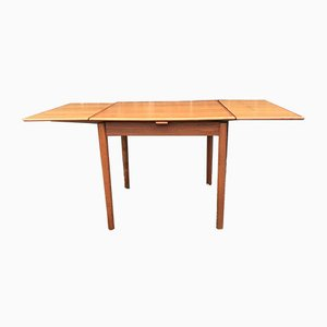 Vitnage Danish Extendable Teak Dining Table from AM 28, 1960s