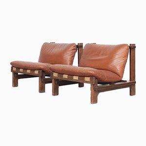 Danish Lounge Chairs by Car Straub for Straub, 1960s, Set of 2
