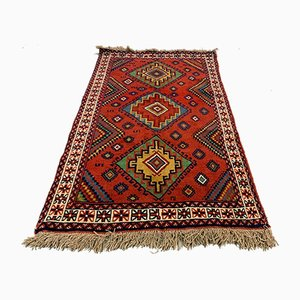 Vintage Tribal Kazak Rug