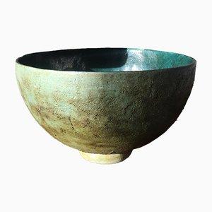 Cuenco grande de cerámica de Hanneke Zuiderhoek, años 70