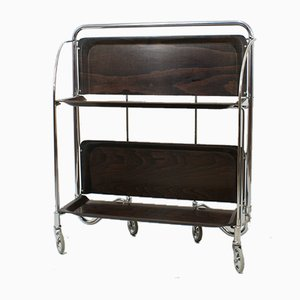 Mid-Century Rosewood Folding Trolley from Gerlinol