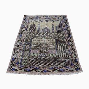 Illustratorischer türkischer Teppich, 1970s