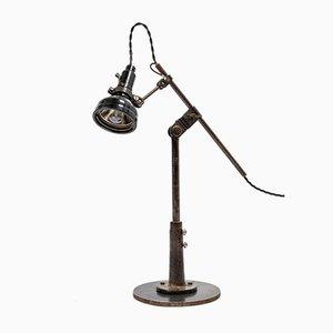Lampe de Bureau d'Usine par Simanco pour Singer, années 20