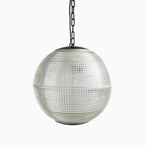 Lampione sferico di Holophane, anni '50