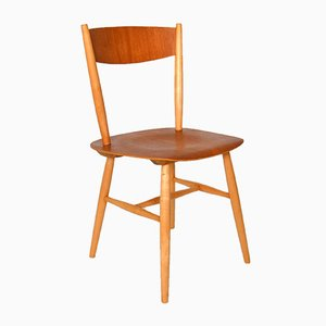 Swedish Teak Fanett Dining Chair by Ilmari Tapiovaara for Edsby Verken, 1960s