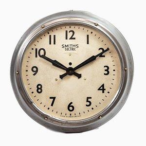 Reloj de pared de Smiths Sectric, años 40