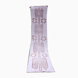 Handgemachter marokkanischer Flur Teppich, 1970er