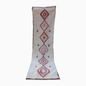 Alfombra de pasillo turca tejida a mano de Vintage Pillow Store Contemporary, años 70