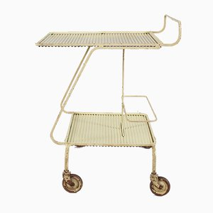 Serving Trolley by Mathieu Matégot for Atelier Matégot, 1950s