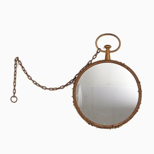 Wrought Iron Mirror, 1950s