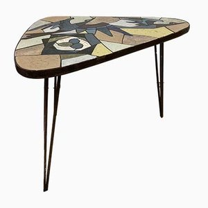 Mid-Century Sculptural Mosaic Coffee Table, 1960s