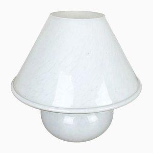 Lampe de Bureau Mushroom N°2 Vintage en Verre de Glashütte Limburg, Allemagne, années 70