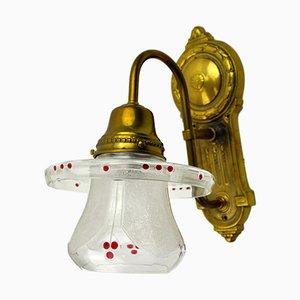 Vintage Art Nouveau Wall Light