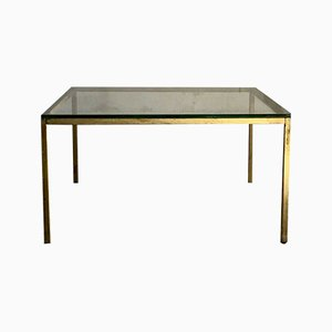 French Minimalist Coffee Table, 1970s
