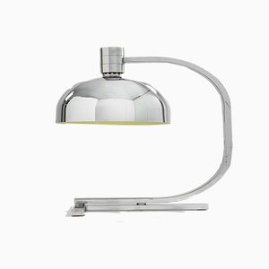 Chrome Series AM/AS Table Lamp by Franco Albini for Sirrah, 1960s