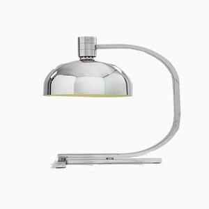 Lampe de Bureau AM/AS Série Chrome par Franco Albini pour Sirrah, années 60