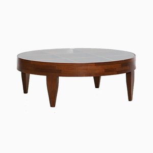 Walnut Coffee Table by Gio Ponti for Giordano Chiesa, 1950s