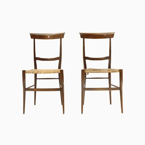 Ramba Dining Chairs by Emanuele Rambaldi for Colombo Sanguineti, 1950s, Set of 2