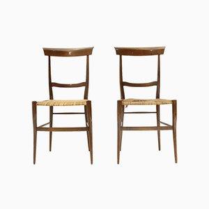 Ramba Esszimmerstühle von Emanuele Rambaldi für Colombo Sanguineti, 1950er, 2er Set