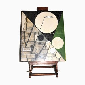Pintura de Elio Schiavon, años 70