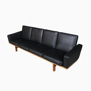 Vintage 4-Seat Sofa by Hans J. Wegner for Getama