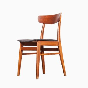 Danish Teak Dining Chairs, 1960s, Set of 6