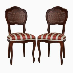 Vintage Biedermeier Style Dining Chairs, Set of 2