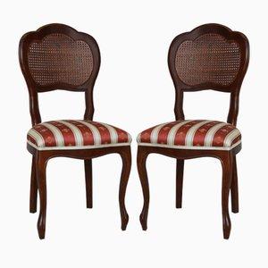 Vintage Biedermeier Style Dining Chairs, Set of 2