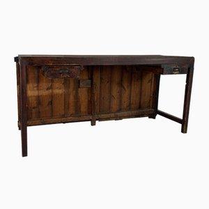 Table Console Industrielle Vintage